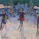 Heinrich-Danioth_Die-Heiligen-Drei-Könige als Skifahrer-1921