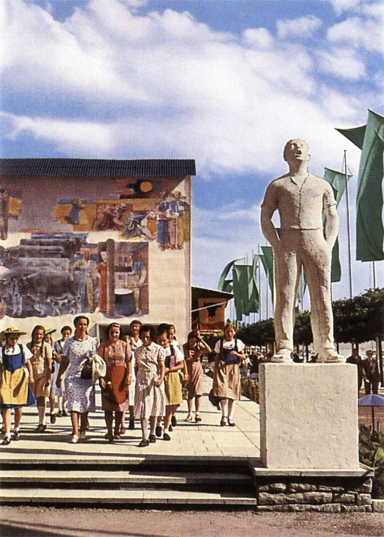 Heinrich-Danioth_Sonne-am-Firn-Landesausstellung-1939