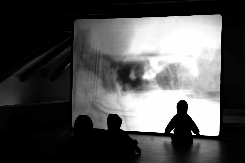 Charlotte Gyllenhammar, «The Spectators», Installation, 2003, in der Ausstellung Mythos Kindheit