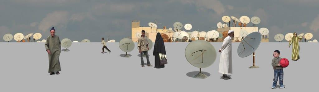 Peter Aerschmann, «Rooftop», 2005, Videostill, Videoinstallation, ohne Ton, 16', Loop, Courtesy Galerie Annex14, Bern und Galerie Anne de Villepoix, Paris