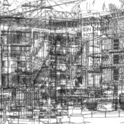 Ingo Giezendanner, «DESIGN (vorher & nachher)», Schwarzweiss-Trickfilm mit Ton, produziert in Zusammenarbeit mit SF DRS, Redaktion Sternstunden; Courtesy Ingo Giezendanner & Freymond-Guth & Co, Zürich