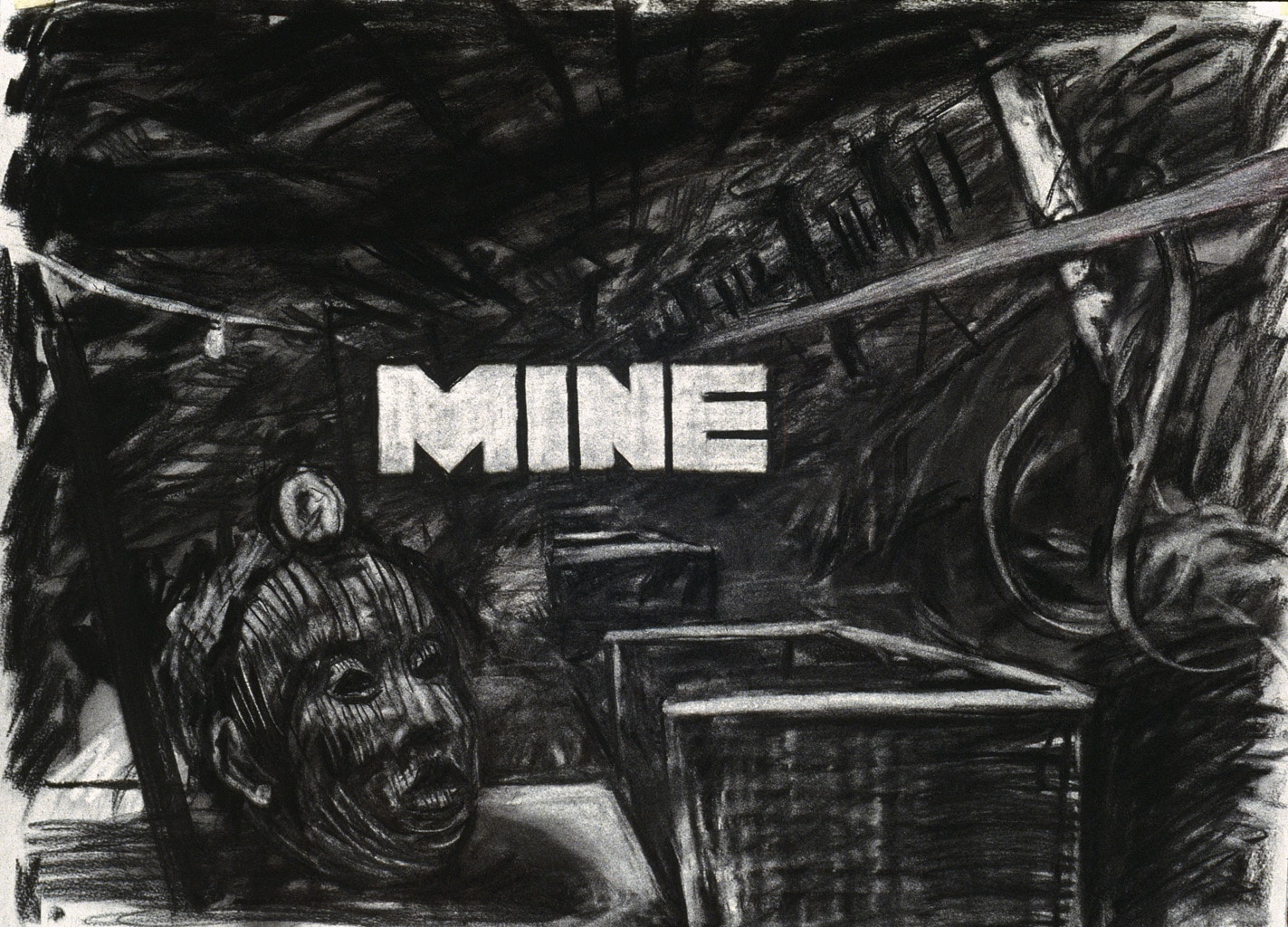 William Kentridge, «Mine», 1991; Courtesy William Kentridge /Gallery Johannesburg Galerie