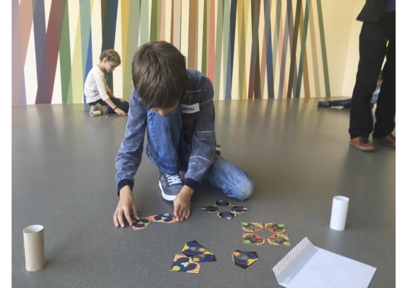 Kinder macht Puzzle Ferienspass_Kunstvermittlung