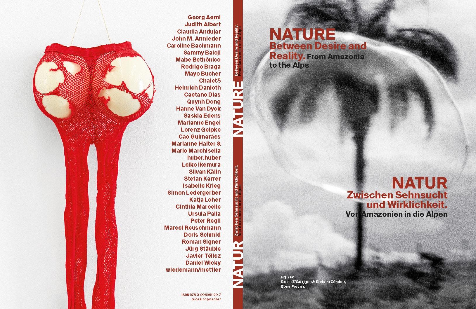 NATUR zwischen Sehnsucht und Wirklichkeit: Cover der Begleitpublikation